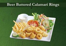 Beer Battered Calamari Rings